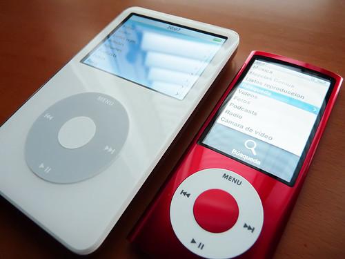 iPod Classic 5.5g & iPod Nano 5g