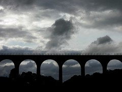 Viaduct and sky 2, Scottish borders, 2010 - Viaduct and sky close to Melrose