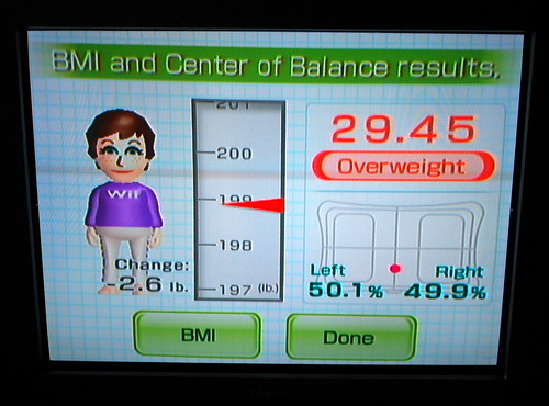 i'm overweight! this is a good thing!