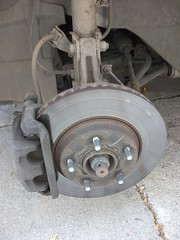 Before - old brakes