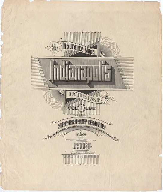 Indianapolis, Indiana 1914