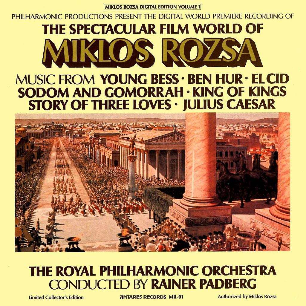 Miklós Rózsa - Spectacular Film World