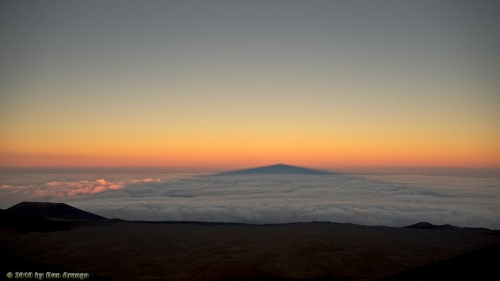 Mauna Kea Shadow