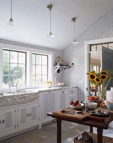 Gambrel kitchen