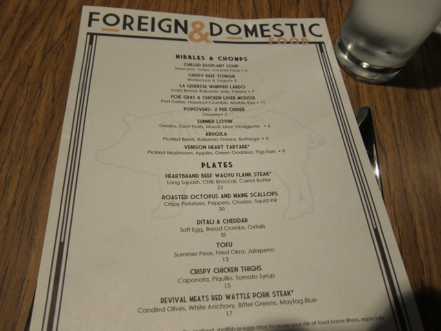 Foreign and Domestic 01