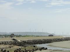 外埔漁港 發電機群