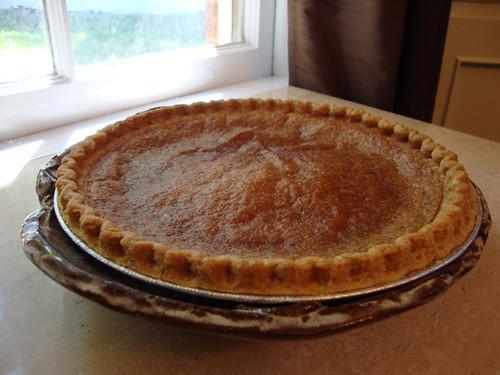 Suppernong Custard Pie
