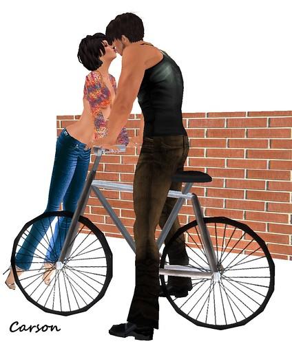 Kabuki ~ Valentine Kiss  Bicycle