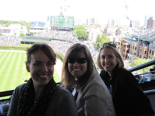 Us at Wrigley