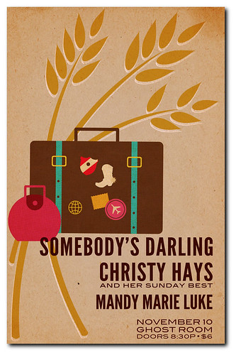 Somebody's Darling and Christy Hays - Ghost Room