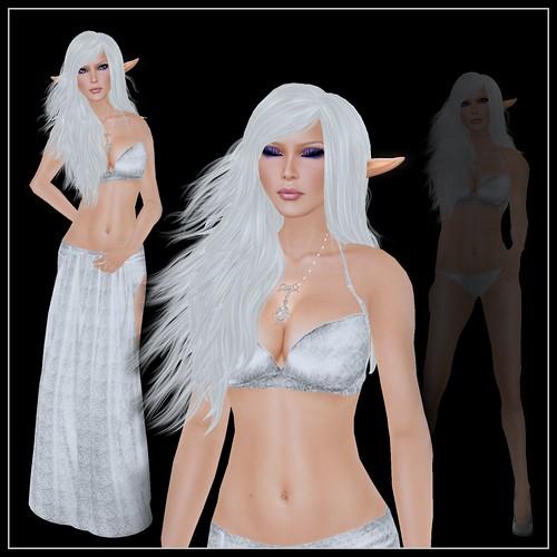 Nicky Ree - Alana Silver White