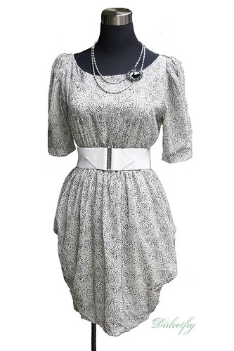 DF10 Mini Leopard Print Dress front copy