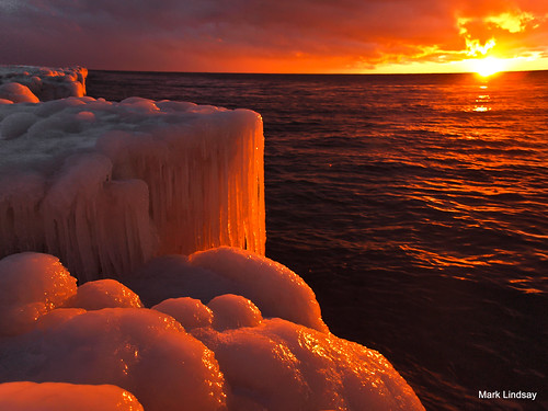 Lake Michigan on Ice