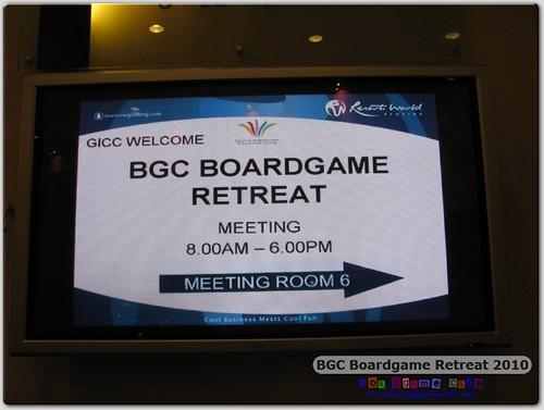 BGC Retreat 2010