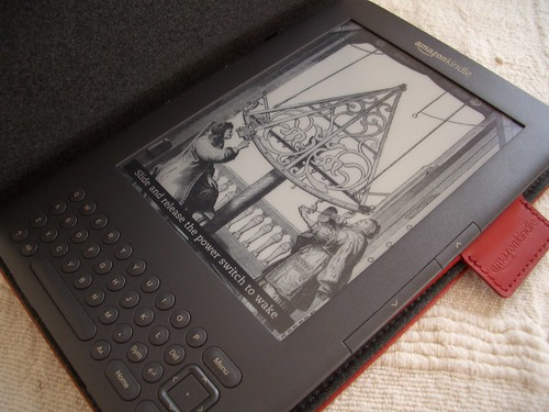 Kindle 3 Initial Pics