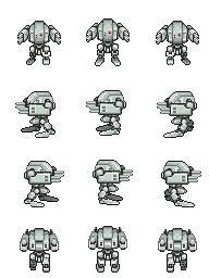 Robot sprite game maker