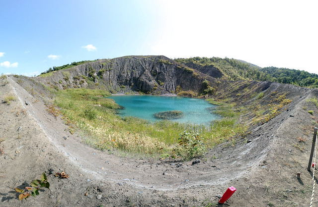 a crater