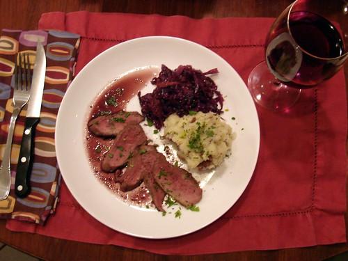 Dinner:  October 3, 2010