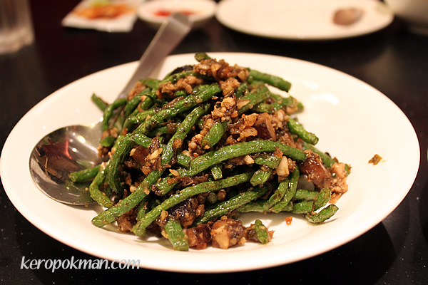 4 season beans with minced meat