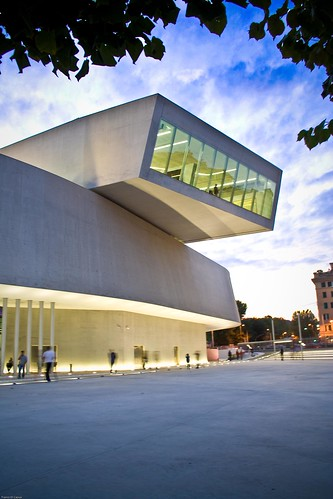 The MAXXI - Museum of Contemporary Art of the XXI Century