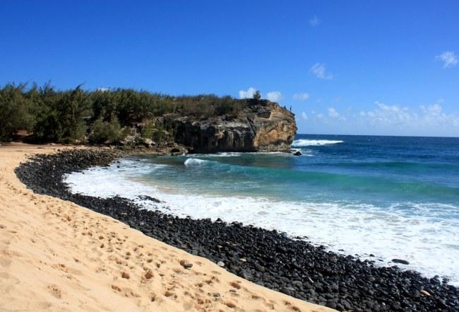 Shipwrecks Beach, Kauai