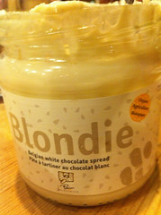 """White Chocolate (""""Blondie"""") Spread - Le Pain Quotdien"""