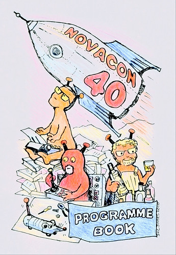 Novacon 40 Programme Book Cover