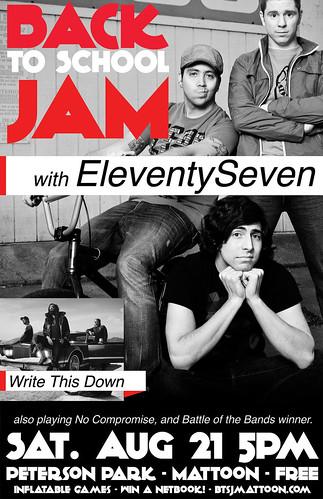 Back To School Jam Poster 2010