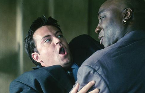 Matthew Perry and Michael Clarke Duncan