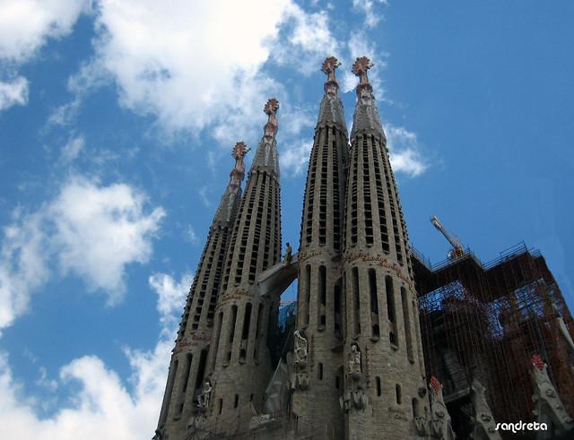 Torres Sagrada Familia