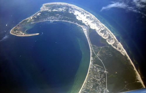 20100807 1249 - Cape Cod - on plane - view of The Cape - IMG_2176