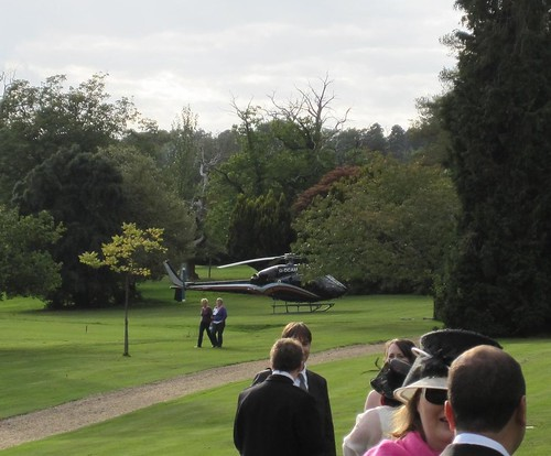 Ashdown park helicopter