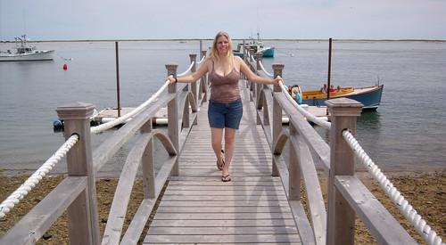 20100801 1251 - Cape Cod - Lobster Cruise - Carolyn - at pier - GEDC2031
