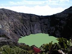 Postkartenbild Vulkan Irazu
