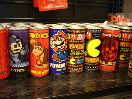 Power upping with video game energy drinks (Photo credit: Mr. & Mrs. S.V.)