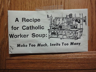 Catholic Worker Soup - Emmaus House, Troy, NY