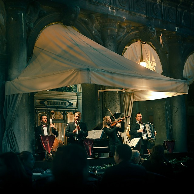 Cuba Gallery: Italy / Venice / Florian outdoor music / natural light / vintage / photography