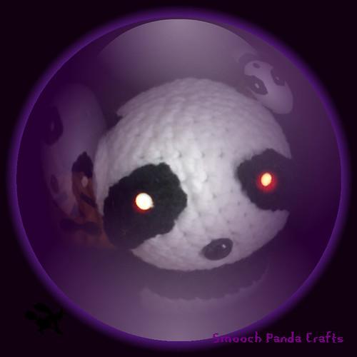 halloween panda crystal
