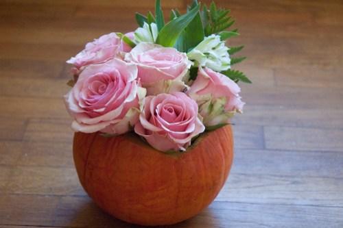 DIY Pumpkin vase (less than $5!)