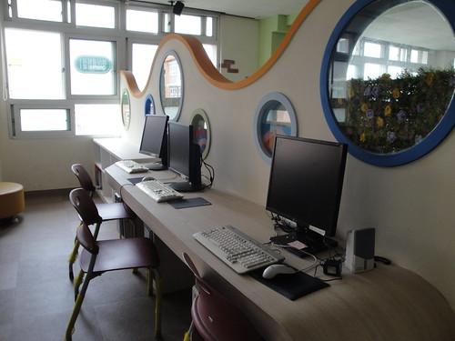 This is where I teach.