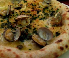 Clam Pizza at Two Amys'