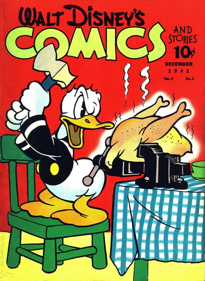 Walt Disney's Comics & Stories #15 (Dec 1941)