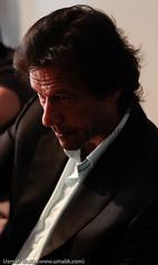 Imran Khan during an interview