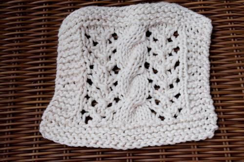 Combined Knitting Dishcloth