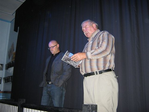 Marc Warren, Director and Jerry Mercer, Producer