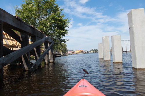 Kayaking - Pasquotank River - Charles Creek 'Bridge'