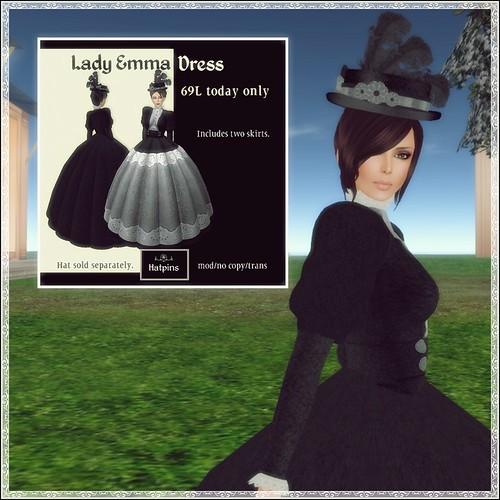 Hatpins - HDH - Lady Emma Dress