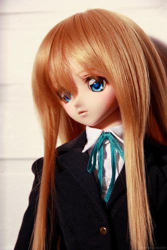 Pensive Shizuko