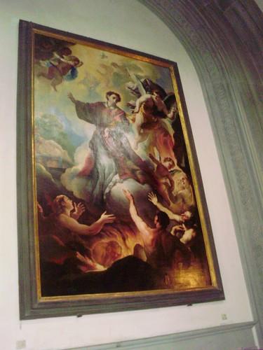 San Lorenzo e le anime del purgatorio (Niccolò Lapi)