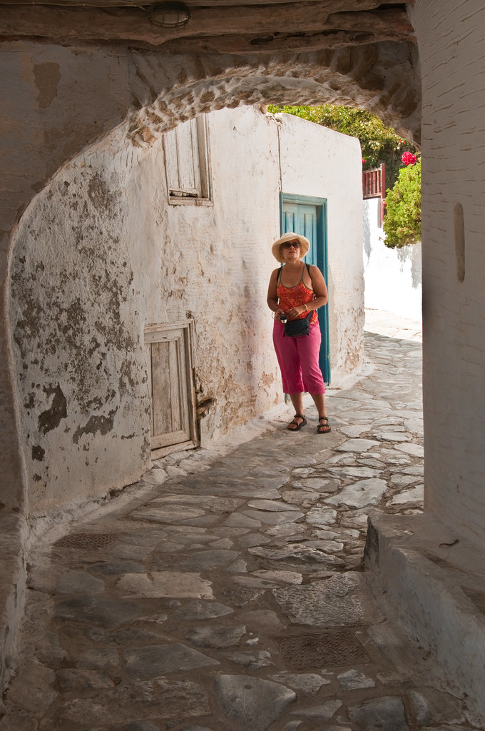 In the Hora, Amorgos